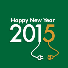 New Year 2015 Concept