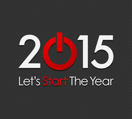 Let's Start The Year 2015