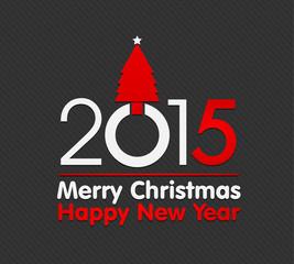 2015 christmas tree card