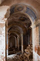 Craco interno chiesa