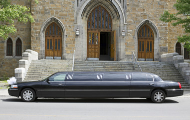 marriage limo