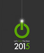 2015 christmas ball power button