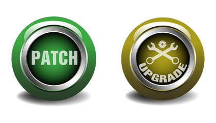 Patch and upgrade buttons