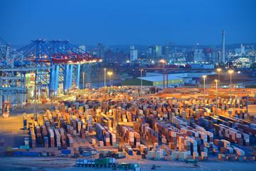 Containerterminal, Hafen, Export, Import, Logistik, Hamburg