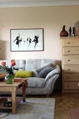 Dekoration, Einrichtung, Teppich, Bild, Blume, Sofa
