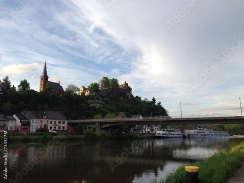 canvas print picture Saarburg