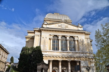 The Great Synagogue of Rome. Italy