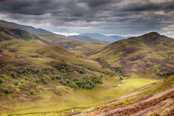 Scottish Highlands landscape HDR