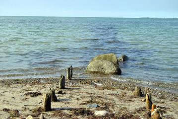 Der Weg ins Meer Heiligenhafen Ostsee
