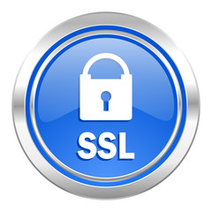 ssl icon, blue button