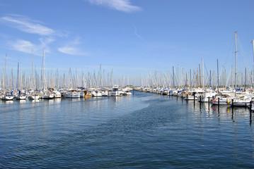 Hafen Hafenmeisterrei Jachthafen Germany
