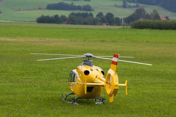 Rettungshubschrauber - Hubschrauber