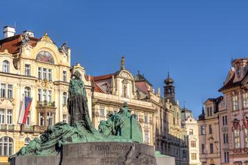 Jan Hus Denkmal in Prag