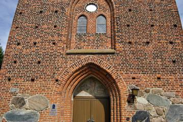 Historischer Kircheneingang Heiligenhafen