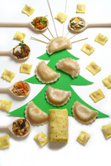 Fillings for Christmas dumplings