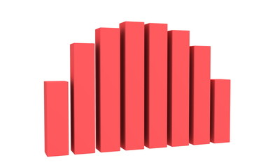 Bar graph. Animation.