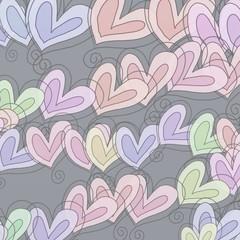 Pastel Heart Pattern
