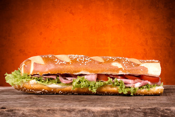 Bavarian sandwich