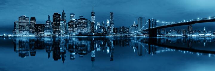 Manhattan Downtown reflections