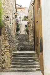 Medieval Street in Catalonia
