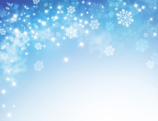 frozen festive background