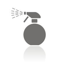 Icono spray redondo FB reflejo