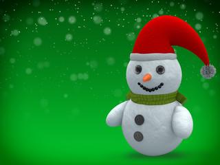 3D - Snowman - Shot 22