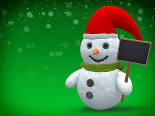 3D - Snowman - Shot 24