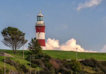Lighthouse in Plymouth