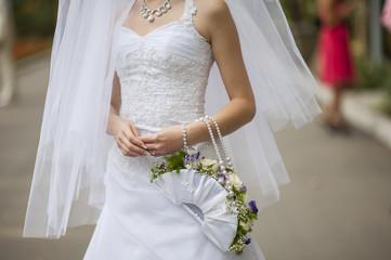 bridal bouquet bride modern