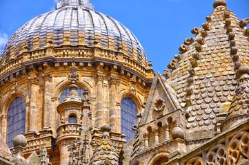 Cúpulas de las catedrales de Salamanca, torre del Gallo