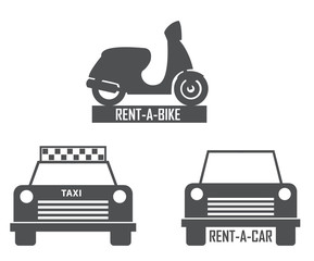 transportation rent icon