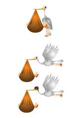 Stork Baby Birthday