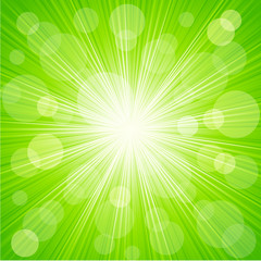 Abstract sunburst light background