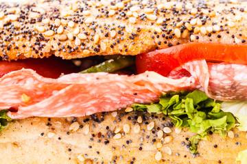Sub sandwich macro