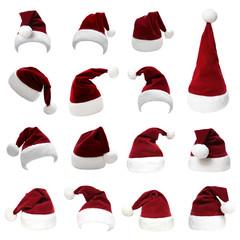 Weihnachtsmützen Set 9