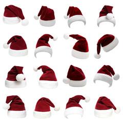 Weihnachtsmützen Set 30
