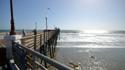 Oceanside Pier timelapse