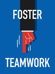Word FOSTER TEAMWORK