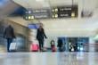 canvas print picture - Airline Passengers