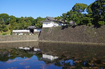 桜田門とお堀
