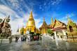 Leinwanddruck Bild - Wat Phra Kaeo, Bangkok, Thailand