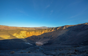 Ubehebe Crater, Death valley national park, California
