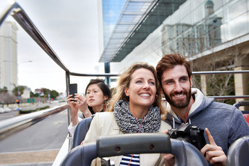 bus tour of city