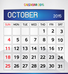 calendar 2015 Magic of Color paper background
