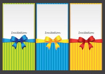 Paper insert Pocket Style Invitation cards design