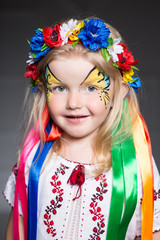 Portrait of pretty girl