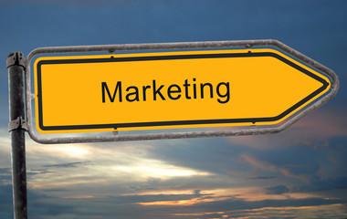 Strassenschild 19 - Marketing