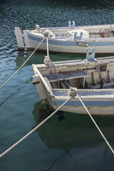 Bateaux de pêche ancien