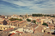View on ancient Spanish the city of Toledo